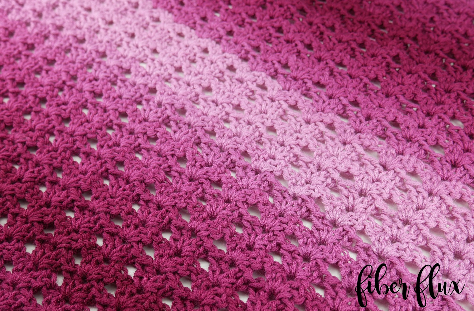 1/2 Double Crochet Blanket