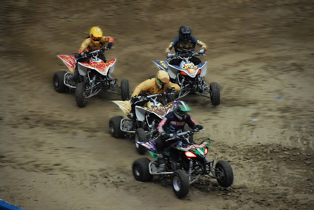 Monster Jam Triple Threat in CLE | ATV race