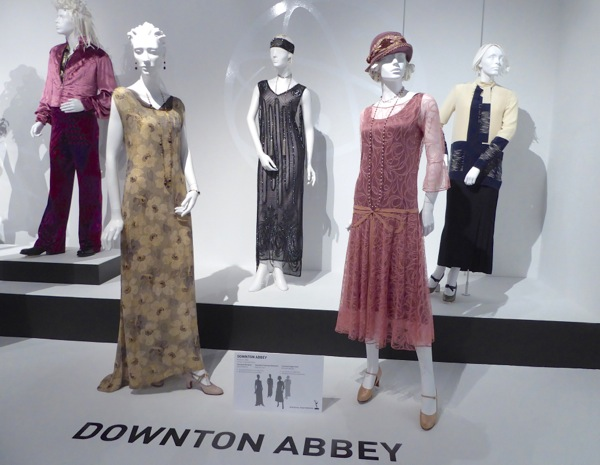 Original Downton Abbey TV costumes