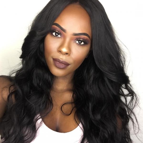 Warm, Darker Skin Tones Look Best with Dark Brown Hair