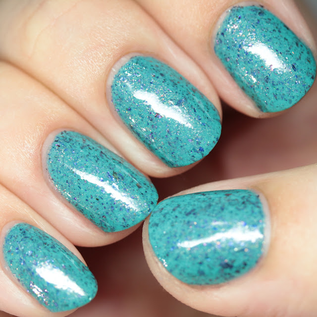 Blue-Eyed Girl Lacquer Merman, Pops, MerMAN