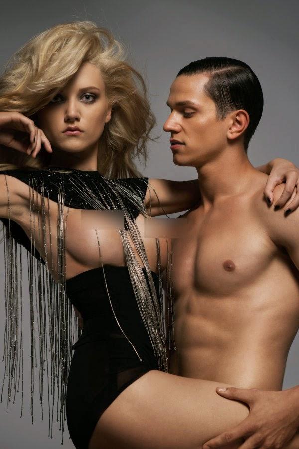 Next top model nude photo shoot