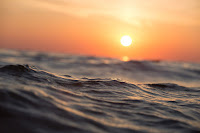 Beach sunset (Credit: e360.yale.edu) Click to Enlarge.