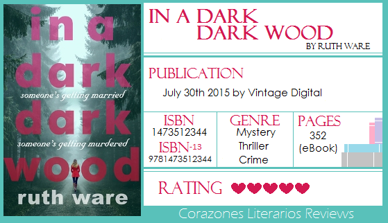 #BookReview: In A Dark Dark Wood by Ruth Ware