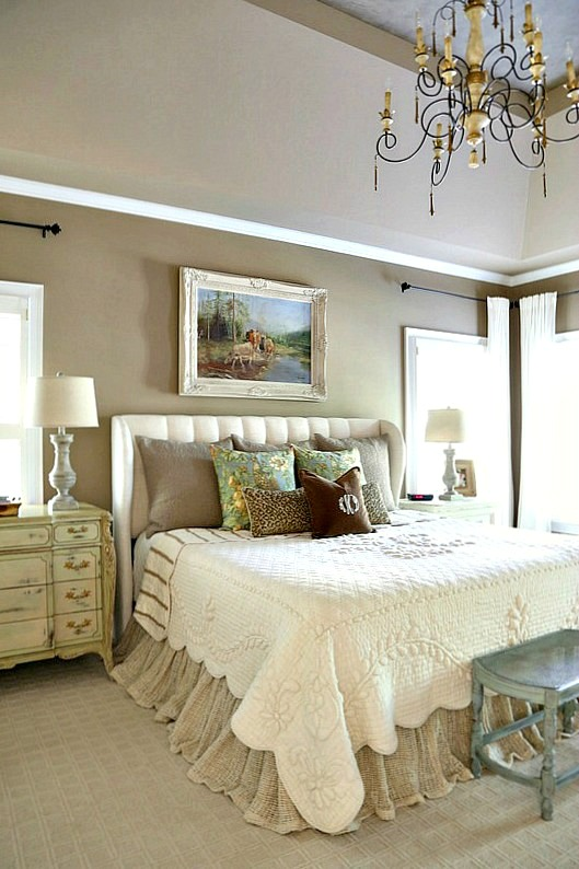 Savvy southern style french country master bedroom refresh for Casual master bedroom ideas