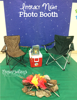 Family Literacy Night Camping Theme