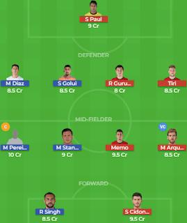 FCPC vs JFC Dream11 Team Prediction | FC Pune City vs Jamshedpur FC: Lineup, Best Players
