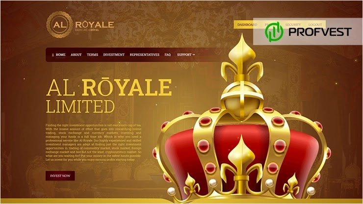 Al-Royale обзор и отзывы HYIP-проекта