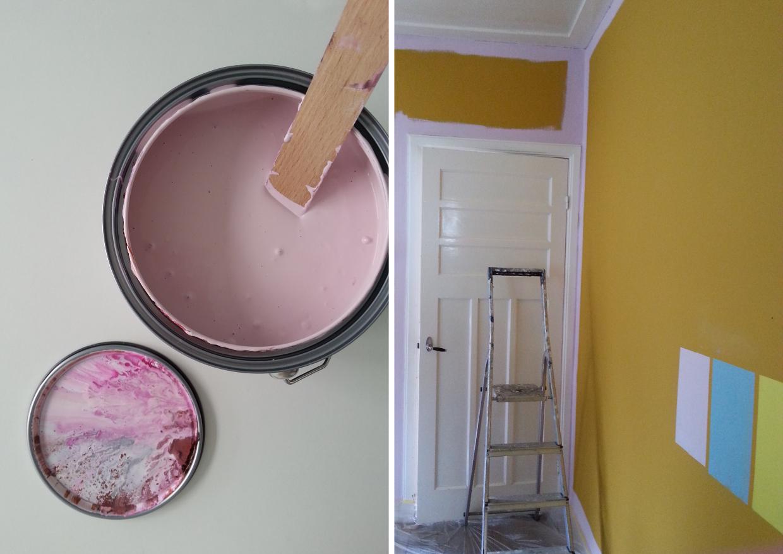 confetti lab: Flexa Kleurtesters: Spelen met kleur in je interieur