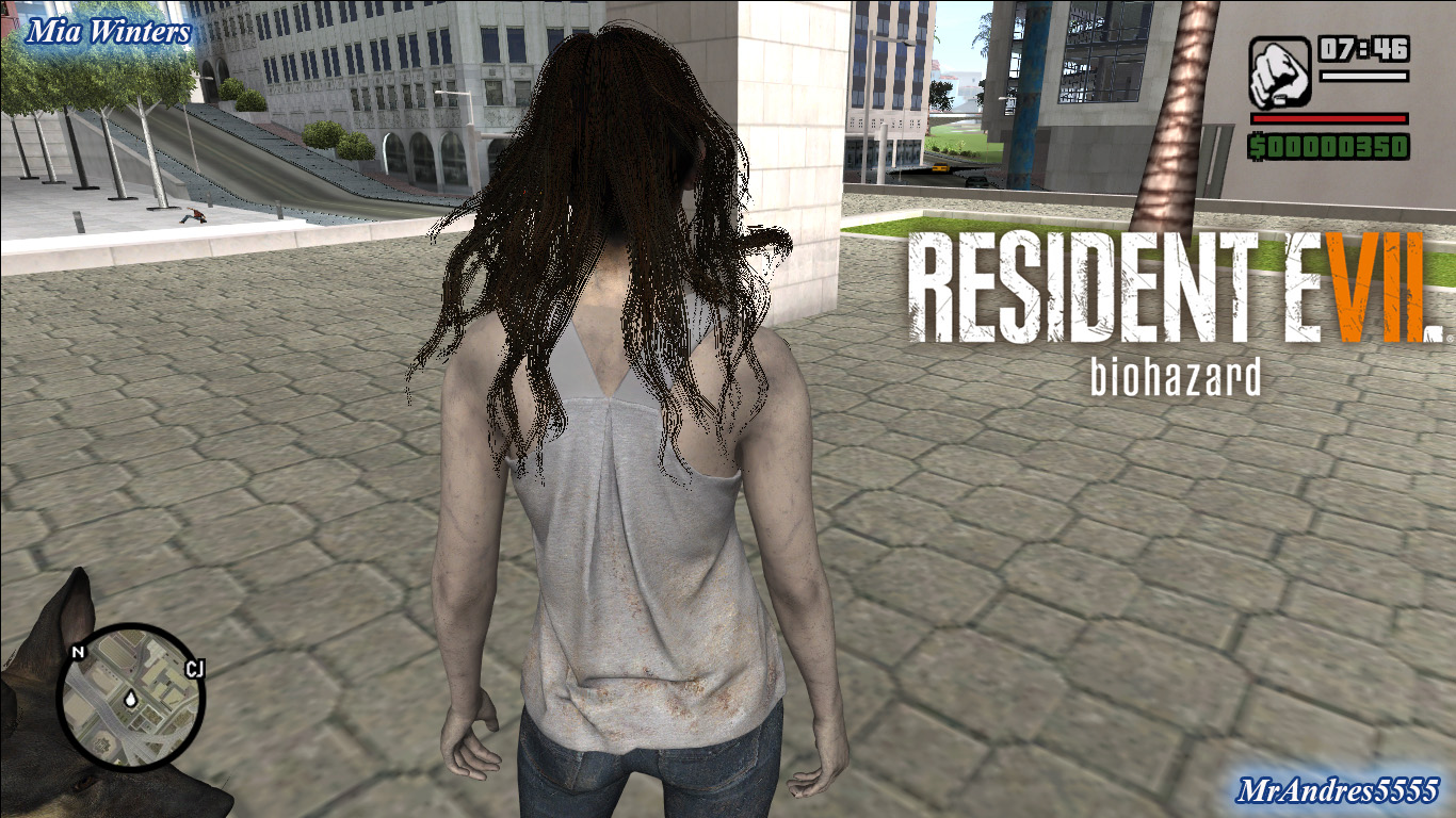 GTA-SA-Modificaciones: Skin Ethan Winters from Resident