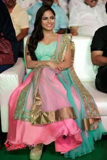 Actress Naina Ganguly Stills in Long Dress at Vangaveeti Audio Launch  0118.JPG