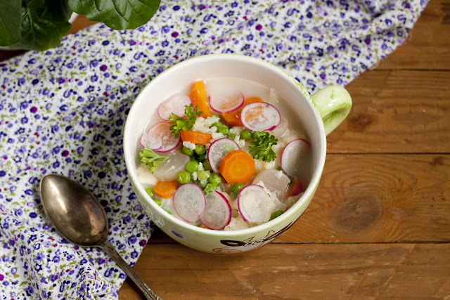 letnia zupa warzywna