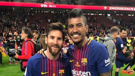 Messi e Paulinho