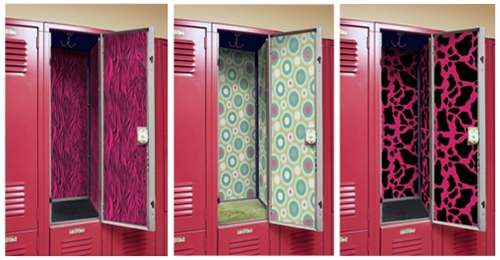 Locker Wallpaper Is Decor For Your Magnetic Sheets Of Designz Magnetize To The Inside Change Look In A Matter Seconds