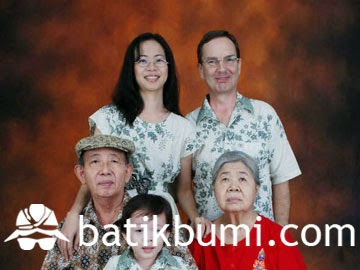 batik keluarga murah
