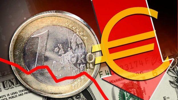 Precio del Euro baja