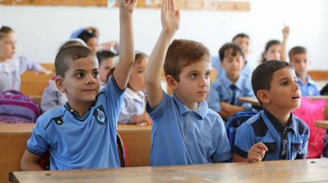 #تنويهتعديل يطرأ على جدول الامتحانات النهائية لطلاب المدارس الحكومية بقطاع غزة