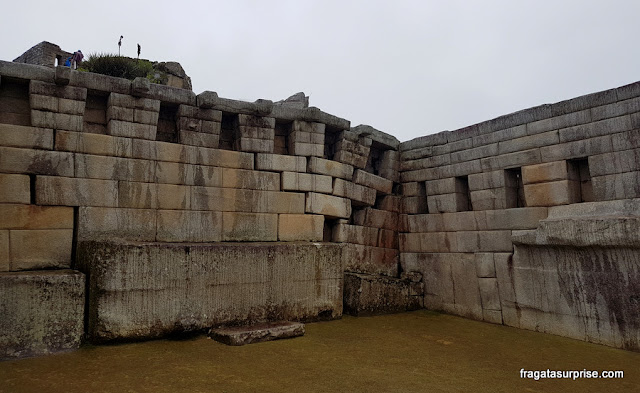 Templo de Wiracocha ou Templo Principal de Machu Picchu