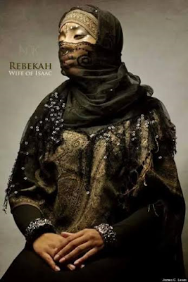 Rebekah wife of isaac Black Biblical characters