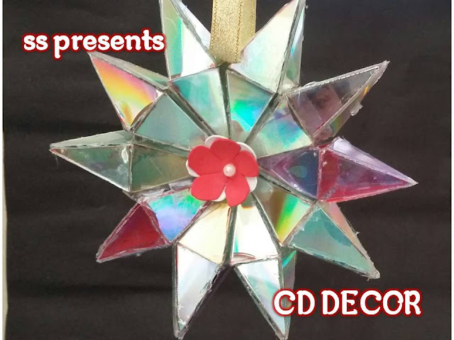 Here is recycled cd crafts,cd jewellery,recycled materials crafts,best out of the waste,summer kids crafts,cd crafts for adulta,cd flowers,cd show piece,How to make cd christmas star room decor ideas nanduri lkshmi youtube channel