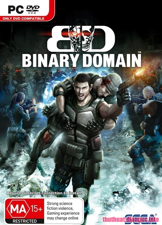 Download Game Binary Domain - SKIDROW Full crack