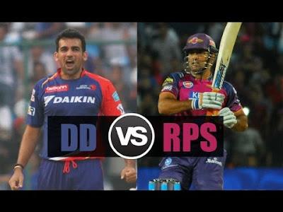 Vivo IPL 2017 DD vs RCB live score