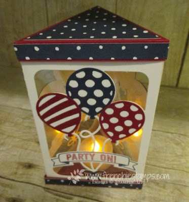 DIY Triangle Box Luminary, Stampin'Up!