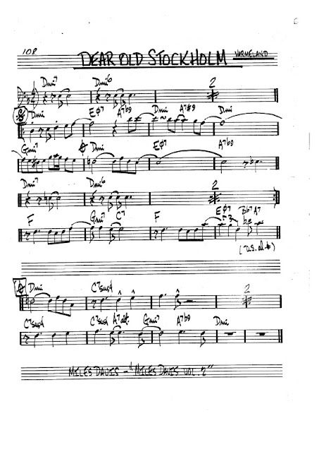 Partitura Violonchelo Varmeland