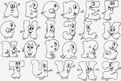 Resultado de imagen para el abecedario para colorear
