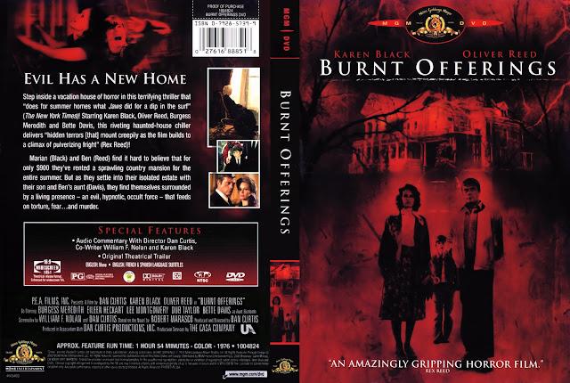 Burnt Offerings (1976) DVD Cover