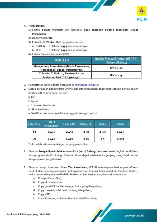 bagi kalian yang memenuhi syarat silakan melakukan pendaftaran disini pendaftaran rekrutmen ini tidak dipungut biaya