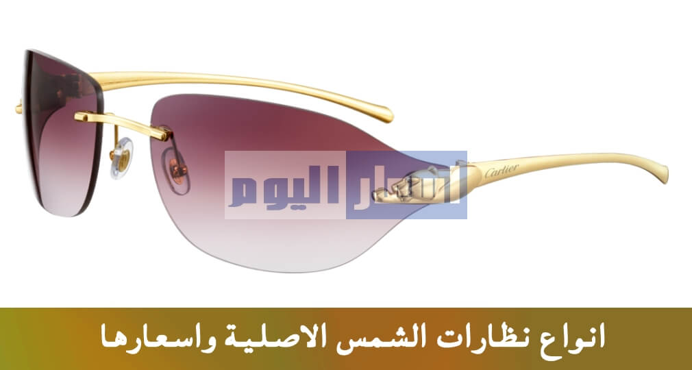 dc7559487 اسعار نظارات شمس حريمى ورجالي فى مصر 2019 وافضل الماركات العالمية