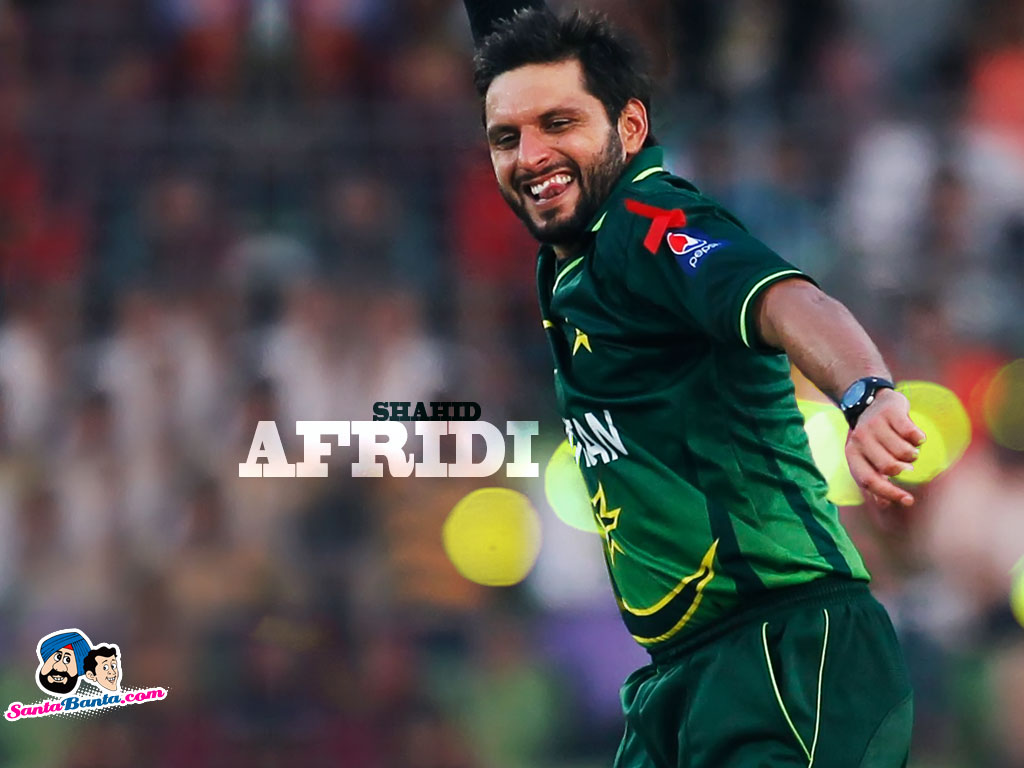6 Shahid Afridi Hd Desktop // Background // Wallapepr Free