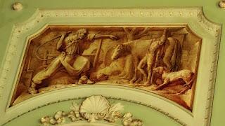 O Estanceiro Chicoteia o Negrinho - Aldo Locatelli, Salão Negrinho do Pastoreio, Palácio Piratini, Porto Alegre