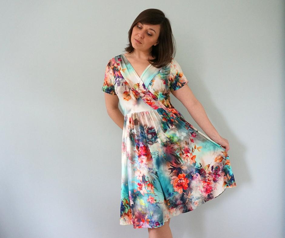 Colette Wren dress pattern review