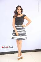 Actress Mi Rathod Pos Black Short Dress at Howrah Bridge Movie Press Meet  0005.JPG