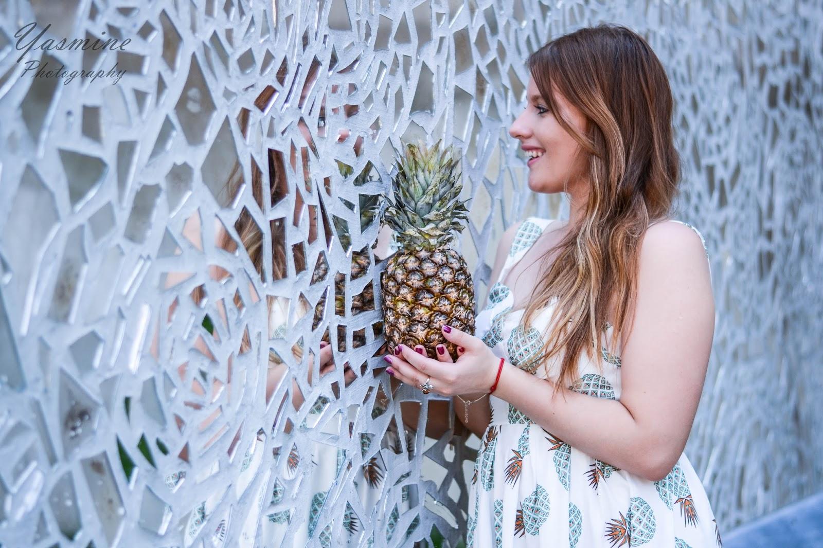 czy warto kupowac na stronach chińskich sklepów zaful sammydress dresslink sukienka w ananasy chińskie sklepy internetowe jakość pineapple dress fashion style melodylaniella yasmine photography a