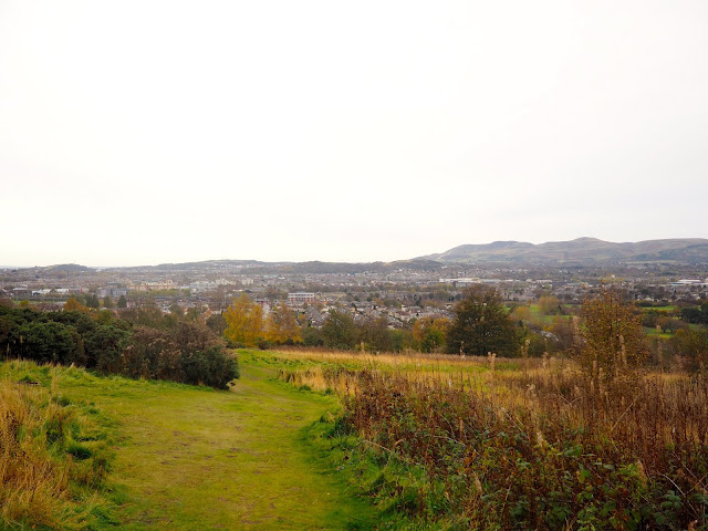 View from the southern slope of Corstorphine Hill, Edinburgh, Scotland