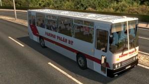 Ikarus 255-260 bus in traffic