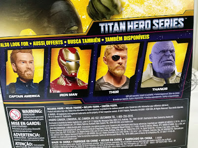 Hasbro Marvel Avengers Infinity War Titan Power FX Figures