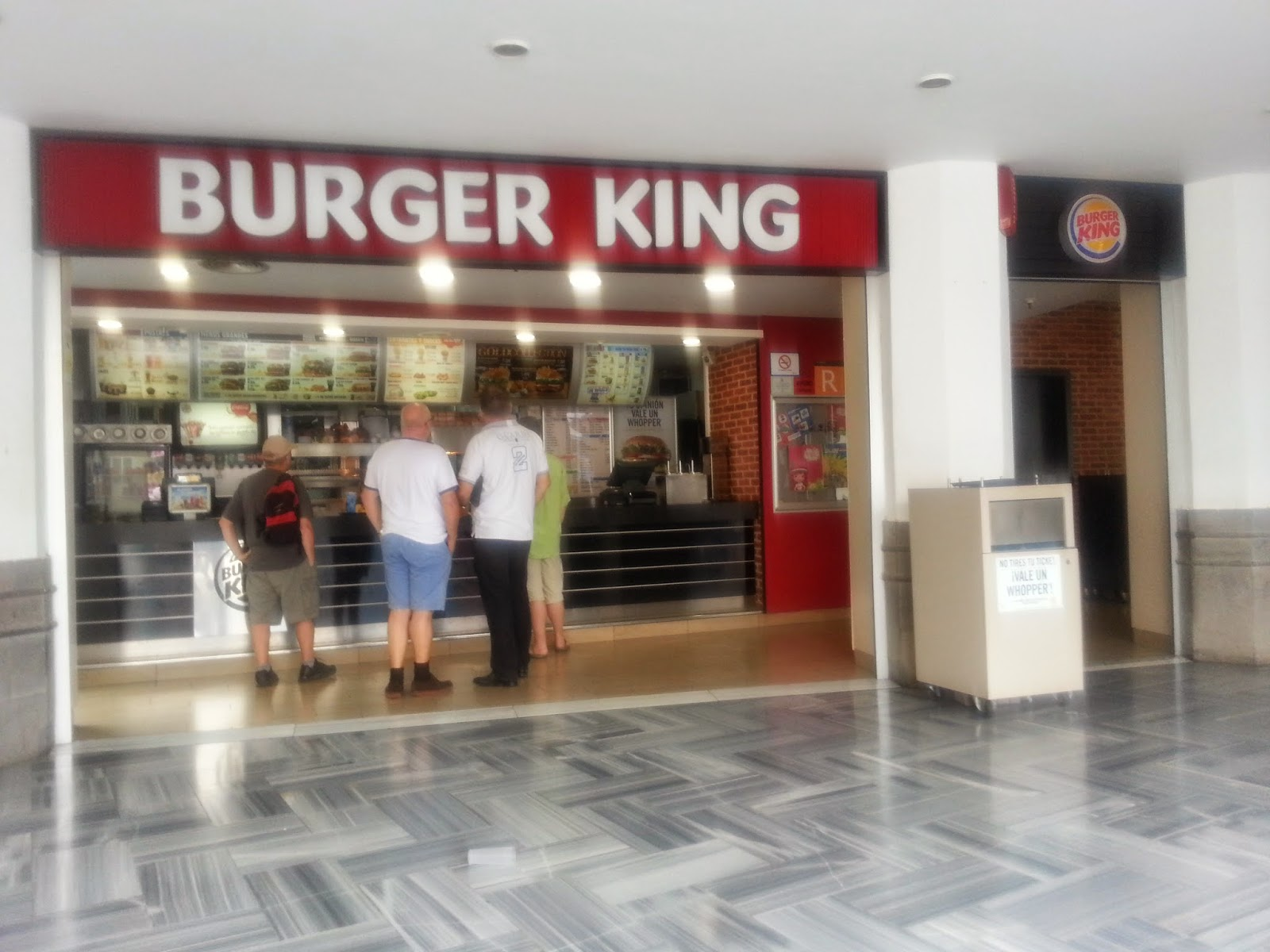 Burger king coupons gran canaria