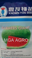 benih semangka, semangka berbiji, semangka lonjong, semangka farmers giant, lmga agro