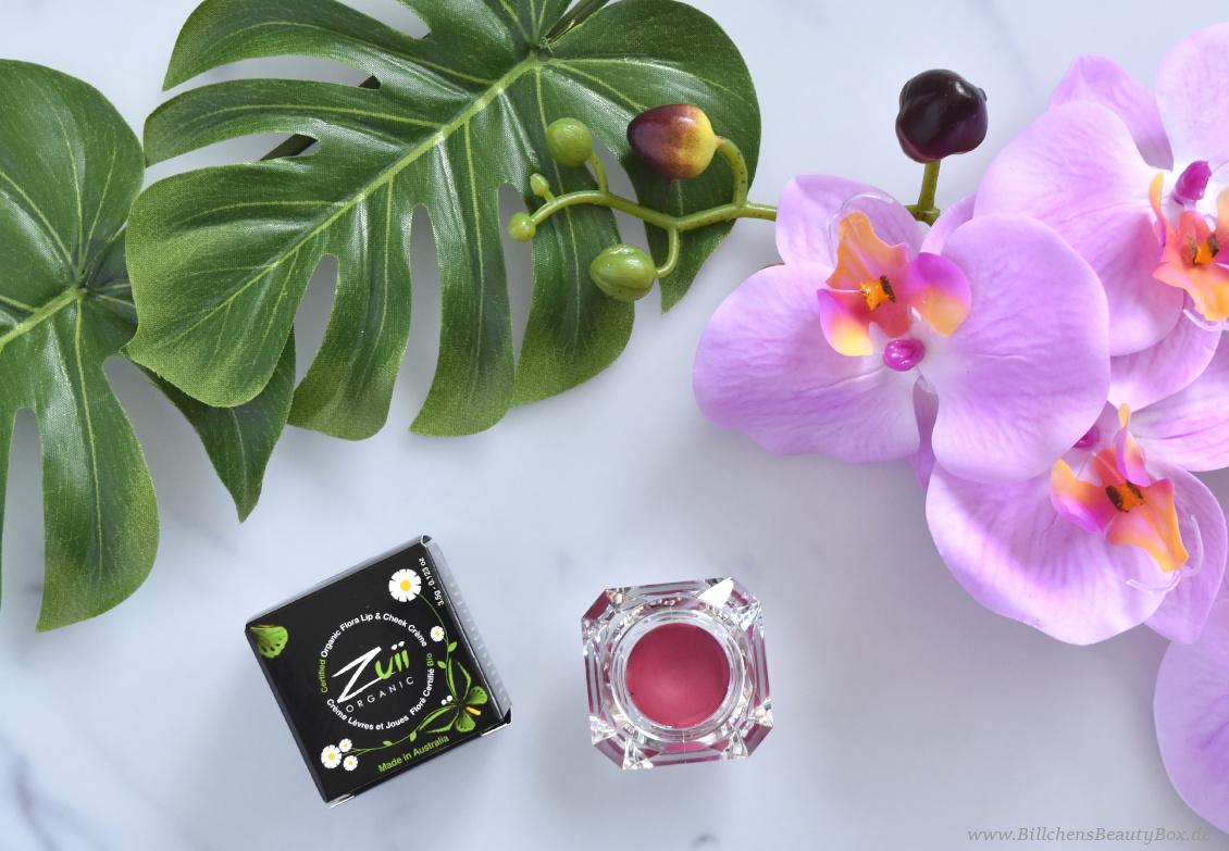 beautypress Naturkosmetik Event Favoriten - ZUII Lip & Cheek Creme Pan