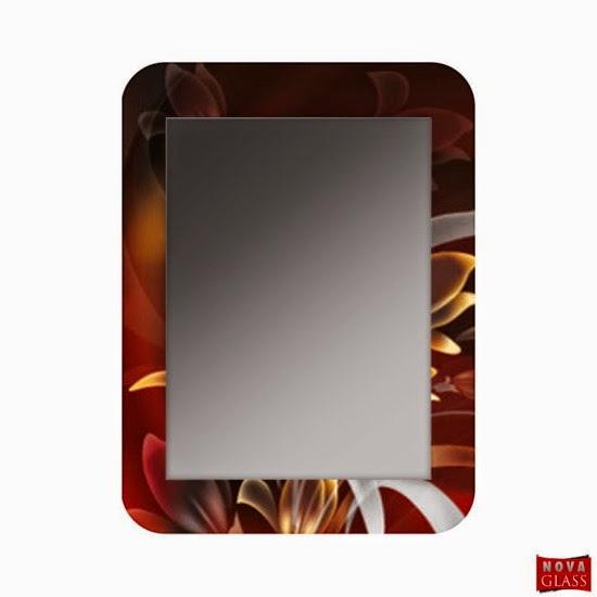 Καθρέπτης με ψηφιακή εκτύπωση Κωδ. DG. 009