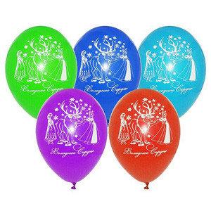 воздушные шарики  Холодное сердце