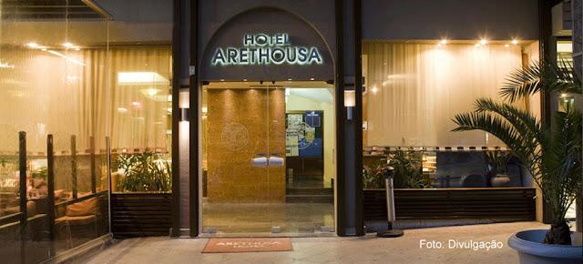 Fachada do Hotel Arethusa, Atenas