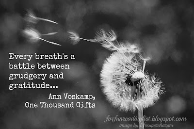 Ann Voskamp, One Thousand Gifts
