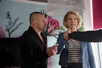 Jenna Elfman and Chuck Liddell in Imaginary Mary (9)