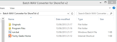 Shoretel Batch WAV Converter v2 Released 1