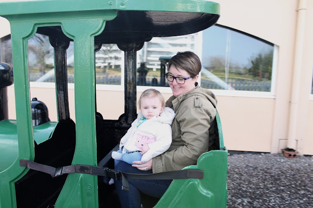 train ride at Butlins Minehead just for tots break mummy and baby